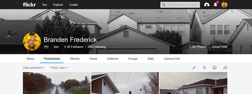 let's talk about Flickr